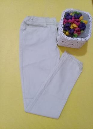 "Летние джинсы, скинни ""candy couture""🍒штаны, (размер 25/25) - 6/34/xs."