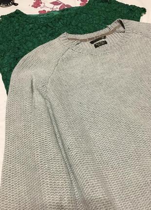 Оригинальный свитер оверсайз   - акция 1+1=3 на всё 🎁5 фото
