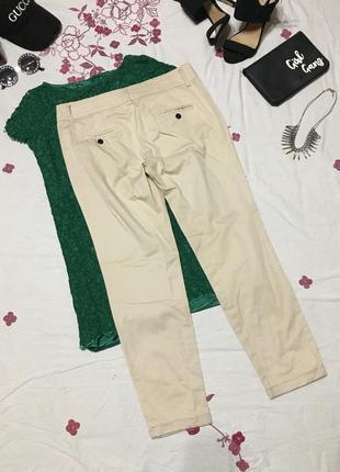 Базовые брюки чиносы   - акция 1+1=3 на всё 🎁5 фото