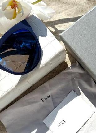 Очки солнцезащитные, зеркальные,  christian dior, оригинал