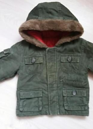 Куртка  вельветовая демисезон