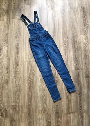 Джинсовый комбинезон штанами h&m