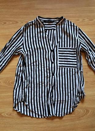 ec1e09a4e4d Тренд 2015 -полоска блузка полосатая zara ZARA