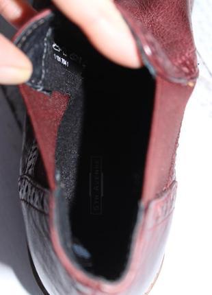 5th avenue кожаные ботинки, челси утепленные8 фото