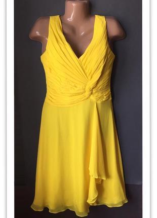 Коктейльное платье с биркой