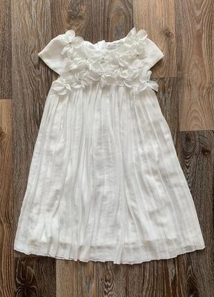 Нарядное платье john rosha р.7 лет