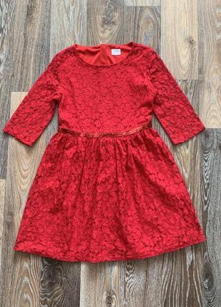 Платье f&f р.9-10 лет
