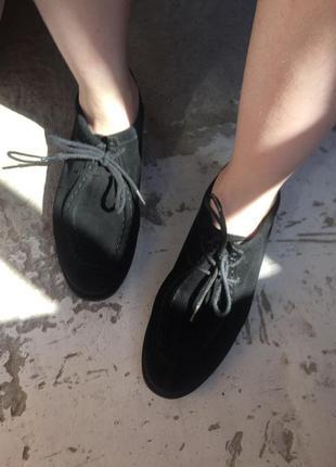 Замшевые туфли 38 р asos