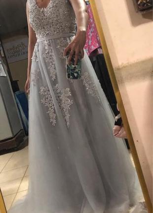 Шикарное новое  вечернее платье , для  новогодней фотоссесии2 фото