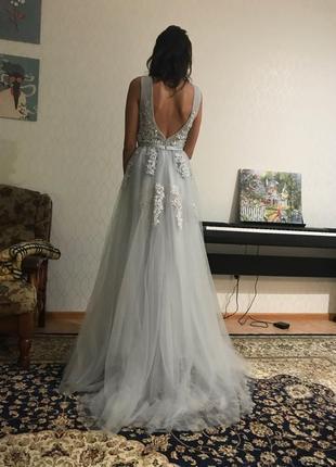 Шикарное новое  вечернее платье , для  новогодней фотоссесии8 фото