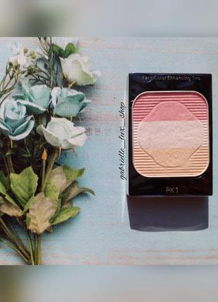 Румяна shiseido face color enhancing trio