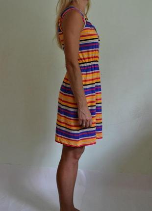 Лёгкое хлопковое трикотажное платье2 фото