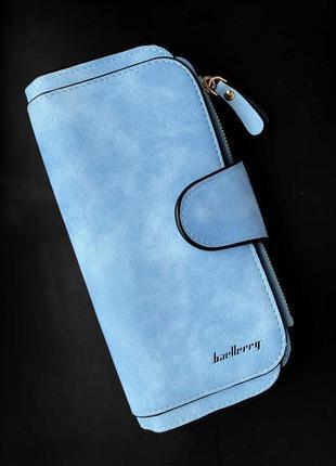 Изумительный замшевый кошелек портмоне baellerry / клатч