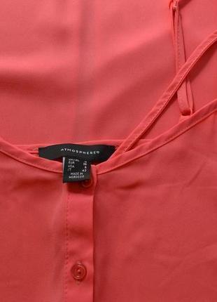 Актуальная удлинённая блуза на тонких бретелях2 фото