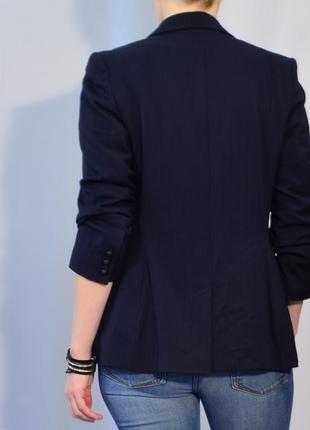 2770\140 темно-синий пиджак next l4 фото