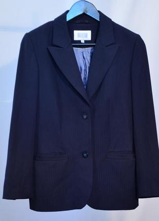 2770\140 темно-синий пиджак next l5 фото