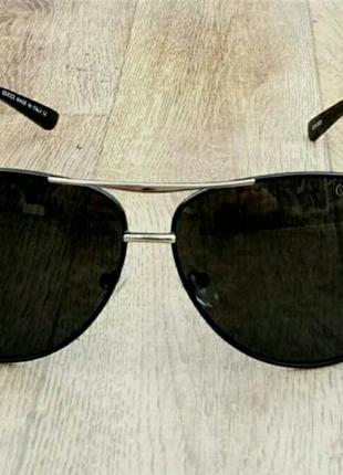 Gucci очки капли мужские солнцезащитные черные
