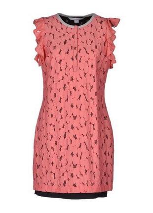 Платье diane von furstenberg, оригинал, гипюр