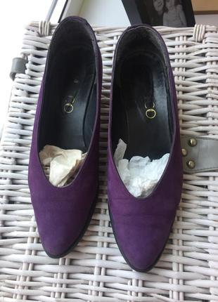 Туфли балетки мюли