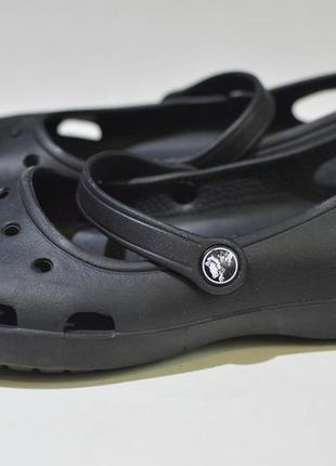 Кроксы, шлепанцы, сабо crocs boulder colorado w9