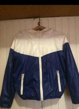 Ветровка куртка с утеплителем весенняя спортивная