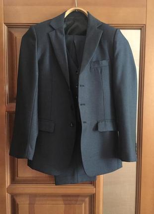 """Школьный костюм тройка для мальчика """"poiblank """""""