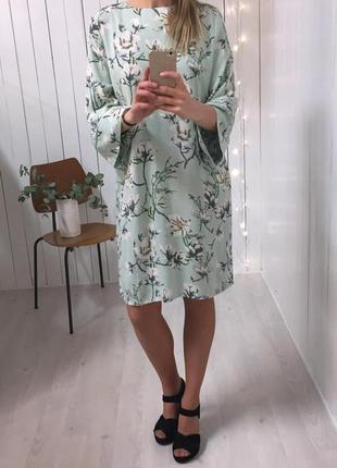 Легкое летнее платье мятного цвета minimum