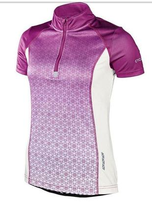 Женская, футболка, вело джерси, спортивная