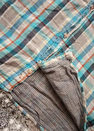 Крутая фирменная рубашка 100% хлопок6 фото