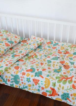 Детская постель с одеялом