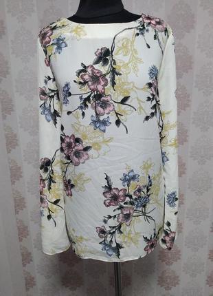 Нереально красивая блуза в цветочный принт 🌹🌹🌹