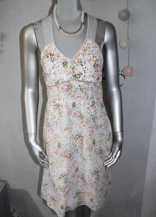 Легкое летнее платье сарафан marc cain