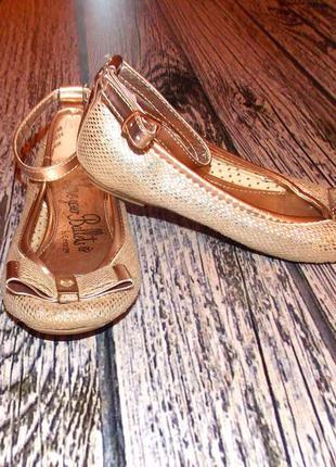 Гламурные туфли george для девочки, размер 10