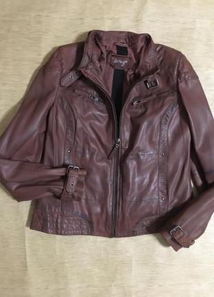 Кожаная куртка 100% кожа
