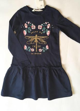 Платье 2-4 года (98/104 см)