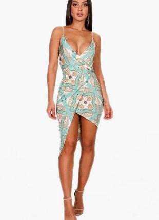 Шикарное легкое платье