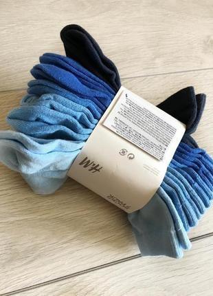 H&m носочки для мальчика 34-36