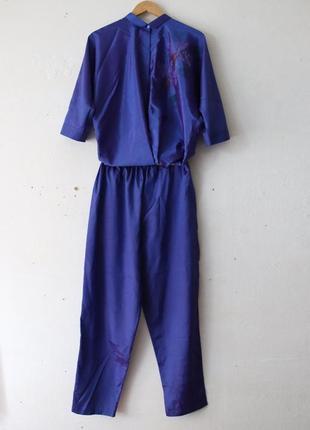 Шелковый костюм 100% шелк