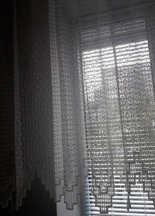 Шторка на кухонное окно