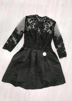 Мини платье с рукавами chi chi london