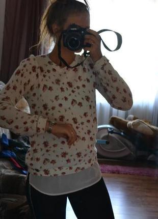 Красивая кофточка свитер