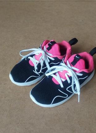 Кроссовки nike для девочки черные розовые