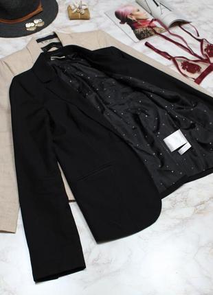 Обнова! блейзер удлиненный пиджак жакет черный на 1 пуговице4 фото