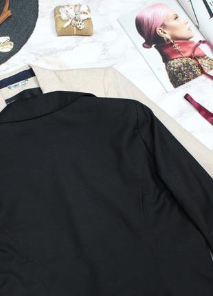 Обнова! блейзер удлиненный пиджак жакет черный на 1 пуговице8 фото