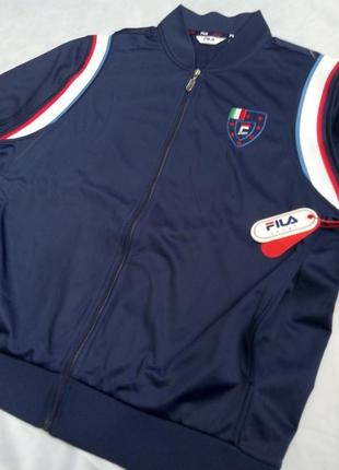 L спортивная кофта fila оригинал! олимпийка мастерка ветровка куртка