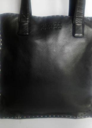 Брендовая кожаная сумка sisley