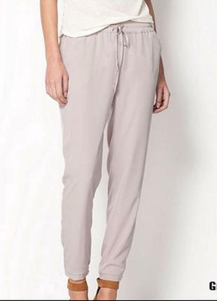 Трендовые джоггеры с карманами брюки бренд-dunnes--14\16h высокая посадка