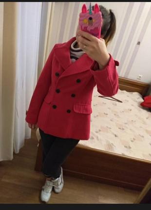 Двубортное весеннее пальтишко, курточка