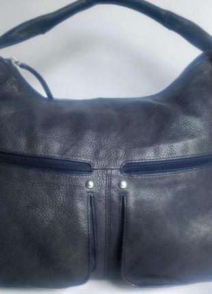 Большая брендовая кожаная сумка fenn wright manson stugio