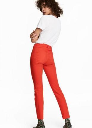 Укороченные брюки стретч h&m